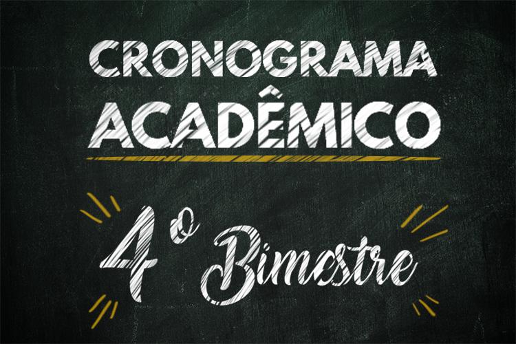 Cronograma Acadêmico 750x500