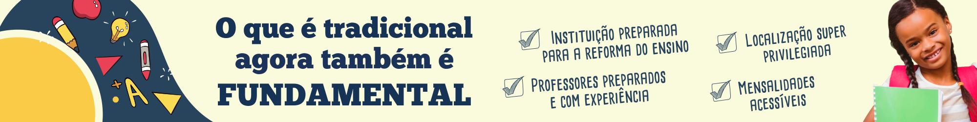 Fundamental - Banner horizontal