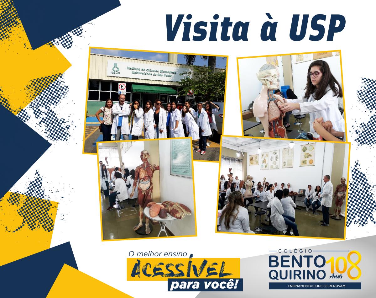 Visita à USP