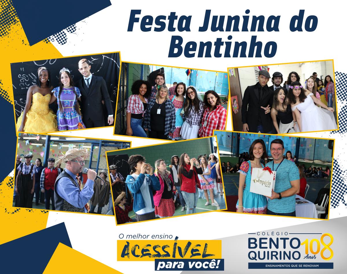 Festa Junina Bento Quirino 2018